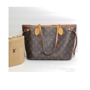 Louis Vuitton Neverfull PM w/ dustbag